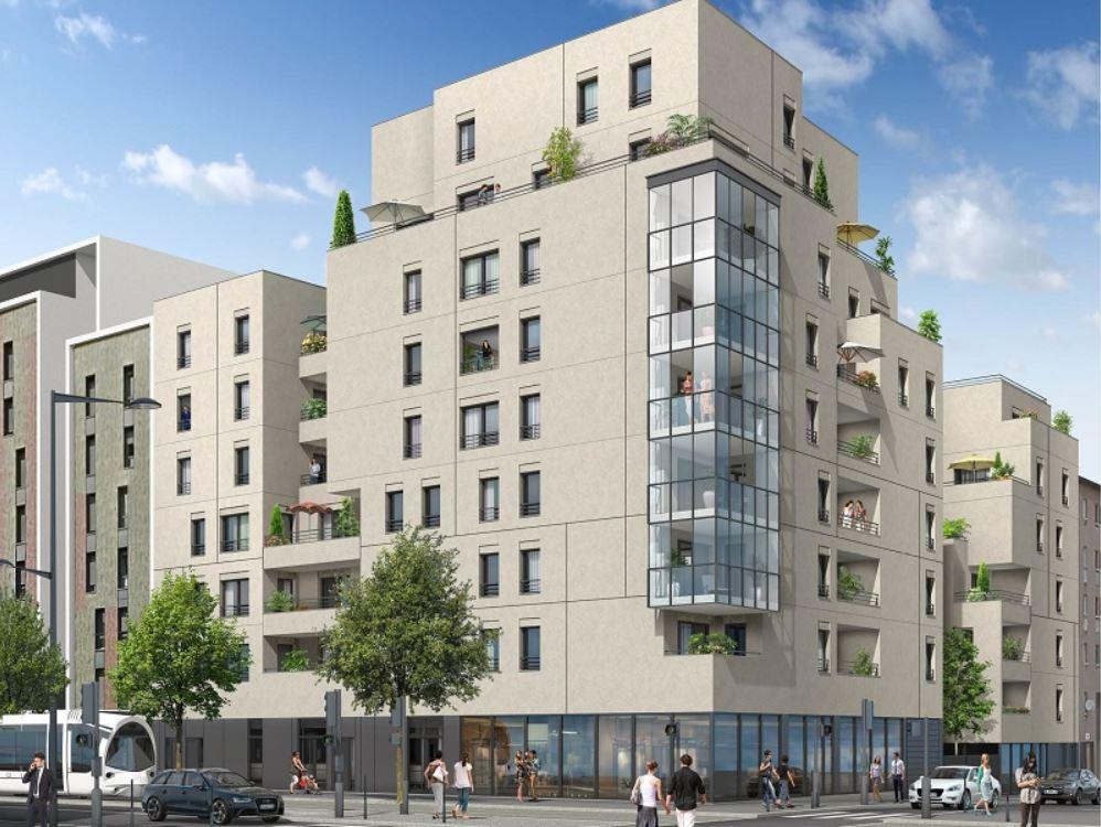 Programme immobilier Lyon 8ème (69008) MONTPLAISIR ICA11