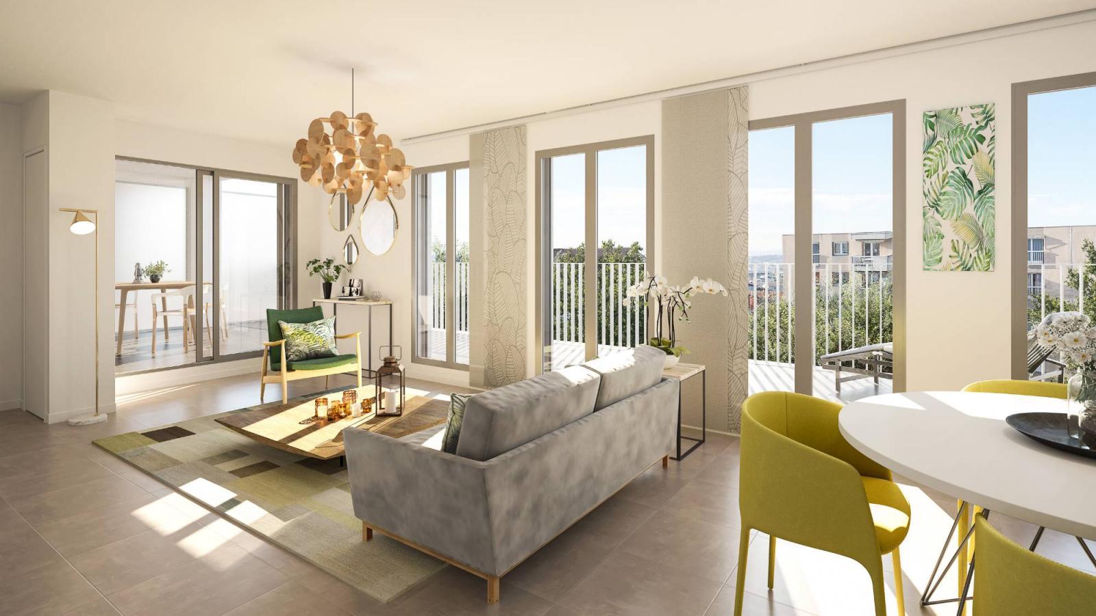 Programme immobilier Villeurbanne (69100) AU COEUR DE VILLEURBANNE KAB11