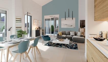 Programme immobilier Lyon 5ème (69005) PROCHE POINT DU JOUR NP4