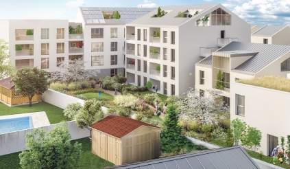 Programme immobilier Chassieu (69680)  Immobilier neuf en Rhône-Alpes