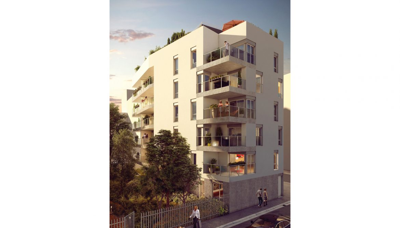 Programme immobilier ALT7 appartement à Lyon 7ème (69007) PROCHE JEAN MACE