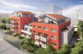 Programme immobilier ALT1 appartement à Villeurbanne (69100) PROCHE COMMERCES/ECOLES
