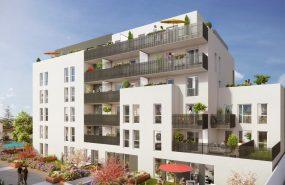 Programme immobilier ICA1 appartement à Villeurbanne (69100) CHATEAU GAILLARD