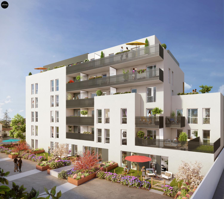 Programme immobilier Villeurbanne (69100) CHATEAU GAILLARD NEO6