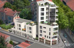 Programme immobilier BOW11 appartement à Lyon 3ème (69003) MONCHAT