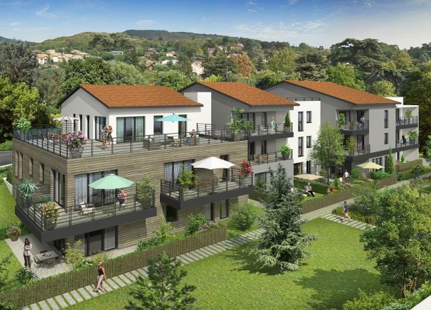 Programme immobilier BOW10 appartement à Collonges au Mont d Or(69660)