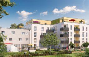 Programme immobilier ICA6 appartement à Villeurbanne (69100) CALME ET RESIDENTIEL