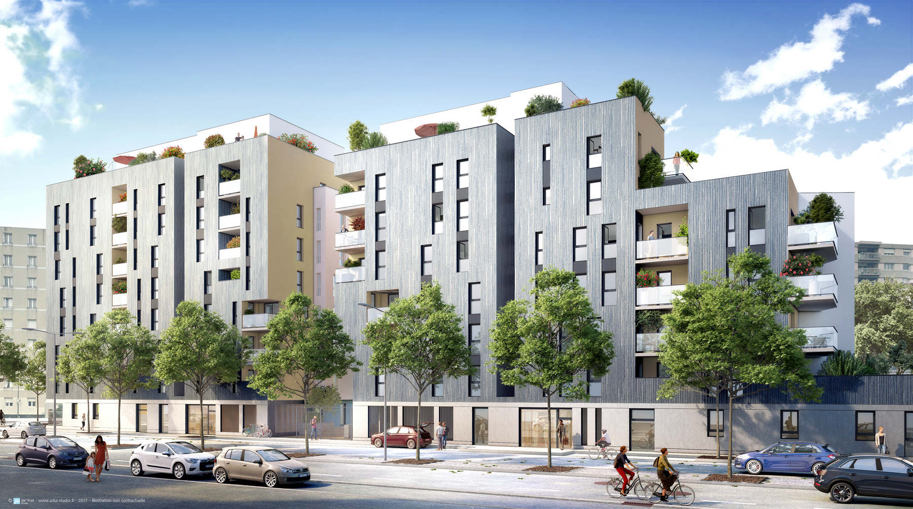 Programme immobilier Villeurbanne (69100)  VIN1
