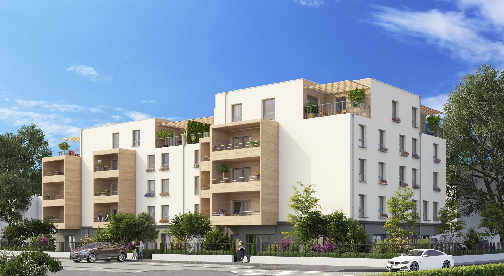 Programme immobilier EQ3 appartement à Meximieux(01800) COEUR CENTRE VILLE