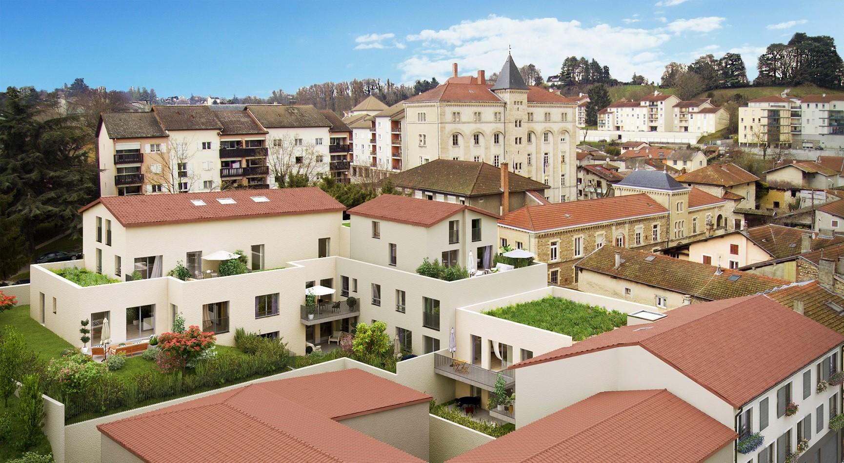 Programme immobilier Meximieux(01800) COEUR CENTRE VILLE EQ3