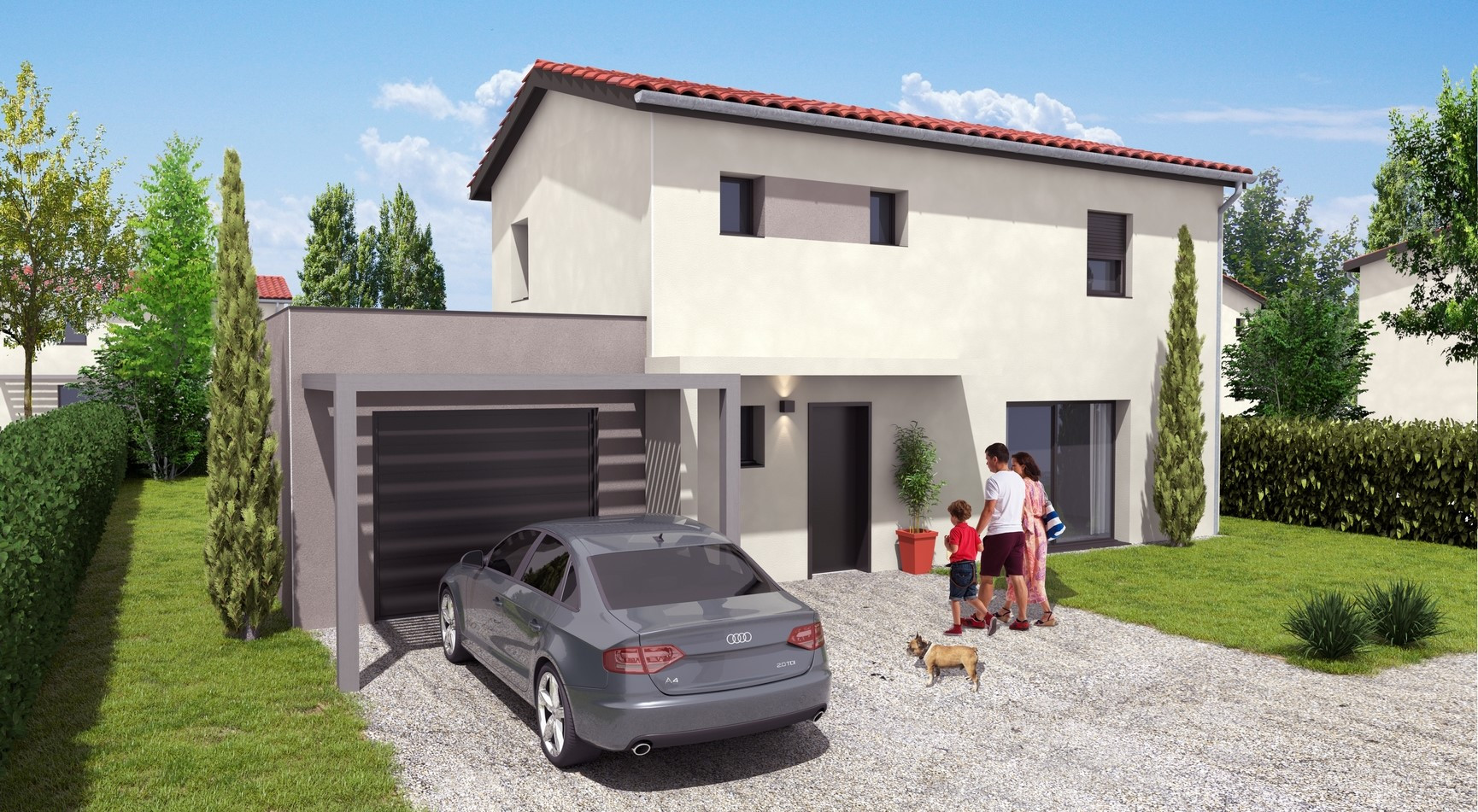 Programme immobilier EQ2 appartement à Charly(69390)