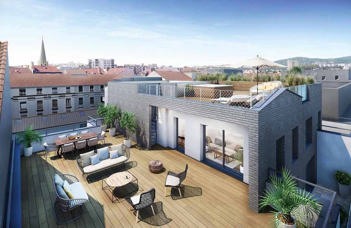 Programme immobilier Lyon 6ème (69006)  AJA3