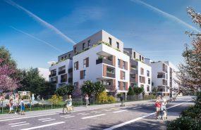 Programme immobilier ED03 appartement à Villeurbanne (69100) GRATTE CIEL