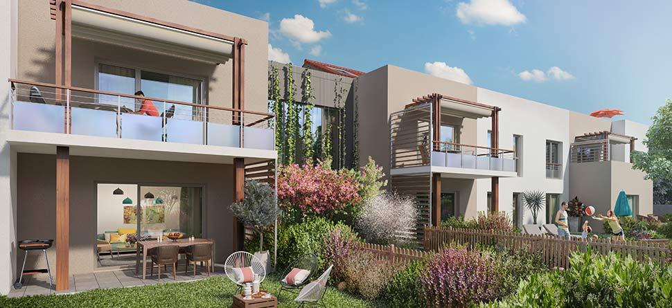 Programme immobilier VAL12 appartement à Chassieu (69680)
