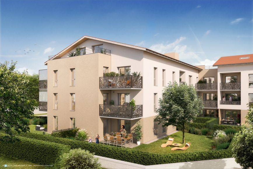 Programme immobilier Brignais (69530)  Immobilier neuf en Rhône-Alpes