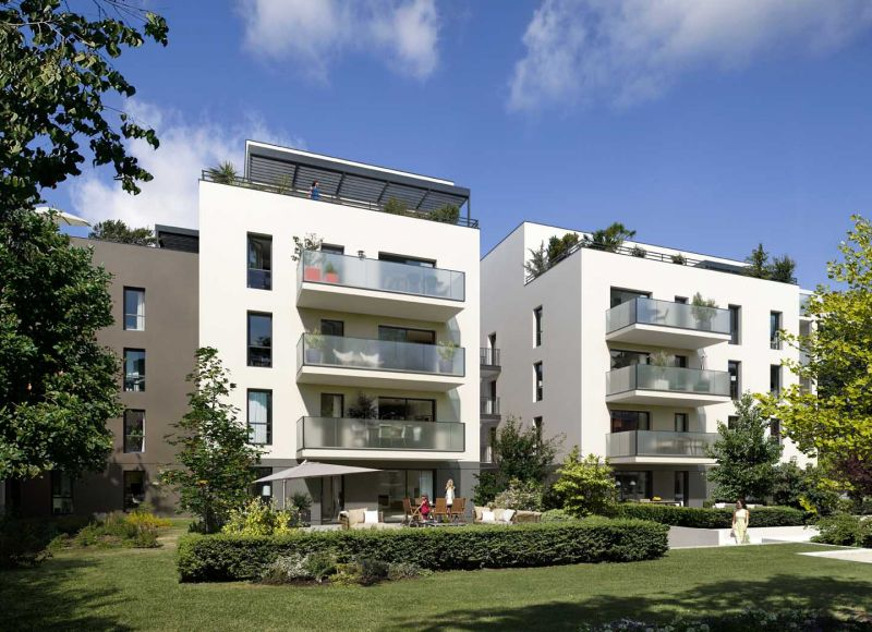Programme immobilier Lyon 3ème (69003) MONTCHAT Immobilier neuf en Rhône-Alpes