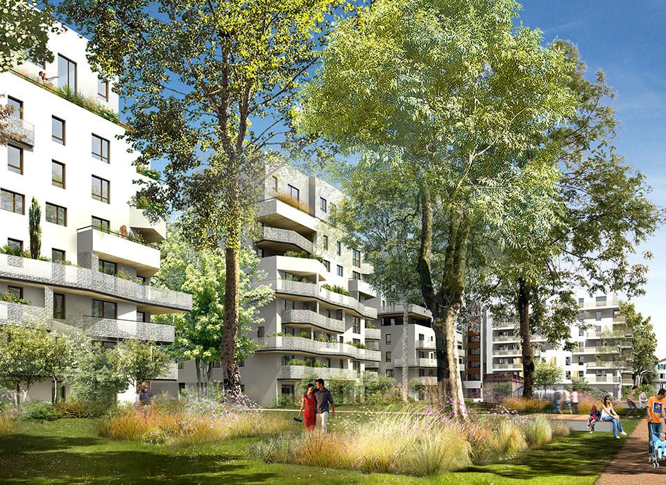 Programme immobilier VIN2 appartement à Lyon 8ème (69008)