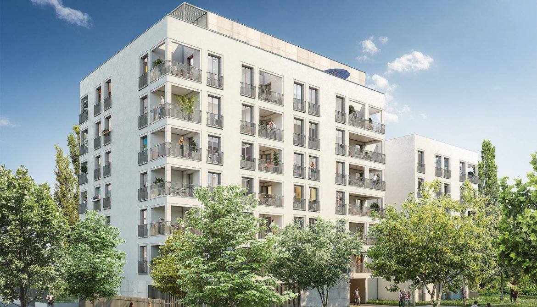 Programme immobilier Lyon 8ème (69008)  Immobilier neuf en Rhône-Alpes