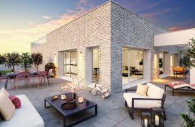 Programme immobilier ALT21 appartement à Caluire (69300) AUX PORTES DE LA CROIX ROUSSE