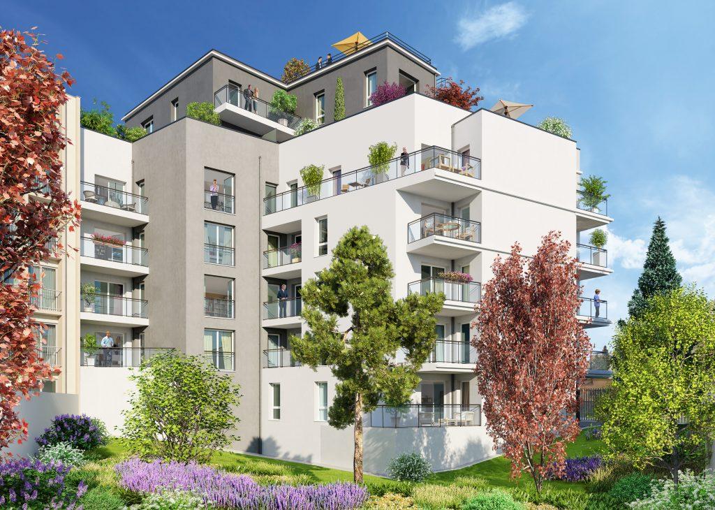 Programme immobilier LNC9 appartement à Lyon 7ème (69007)