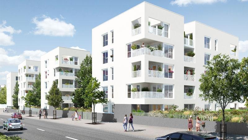 Programme immobilier LNC7 appartement à Vénissieux (69200) PROCHE CENTRE VILLE