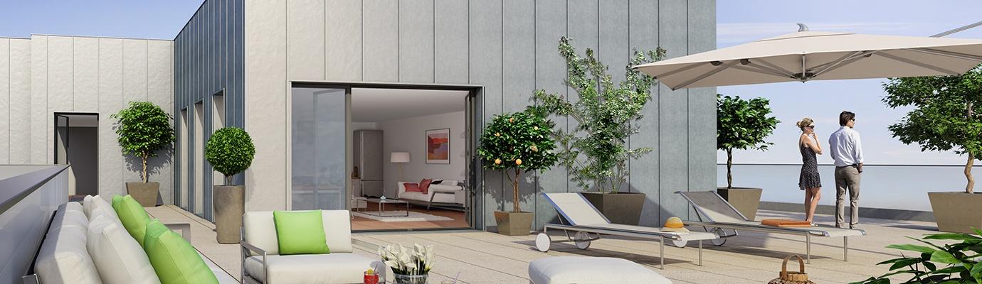 Programme immobilier KAB9 appartement à Villeurbanne (69100) SECTEUR RESIDENTIEL