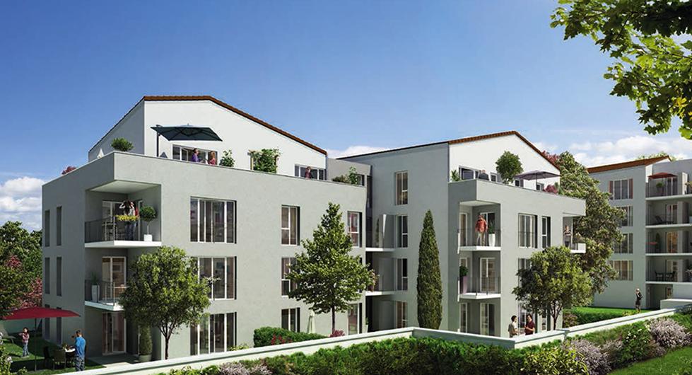 Programme immobilier LNC9 appartement à Villeurbanne (69100) LIMITE MONCHAT