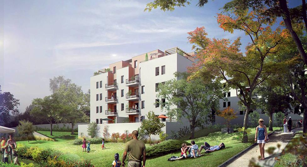 Programme immobilier Vénissieux (69200) Proximité immédiate du centre AJA10