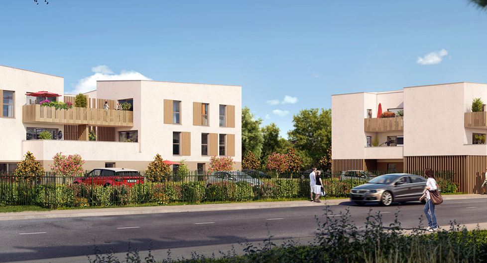 Programme immobilier Saint-Priest (69800) Proche centre village NEO3