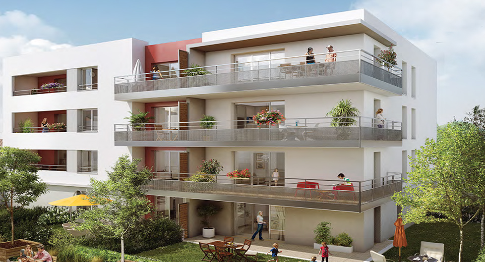 Programme immobilier EDO2 appartement à Pierre-Bénite (69310)