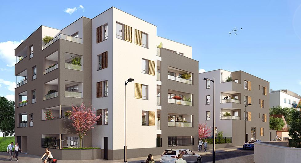 Programme immobilier Vénissieux (69200) CENTRE VILLE AJA10