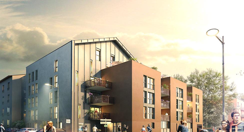 Programme immobilier Oullins (69600) Quartier Bussière-Cadière ALT14