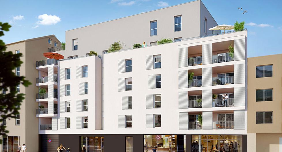 Programme immobilier Villeurbanne (69100) Tonkin Sud VAL10