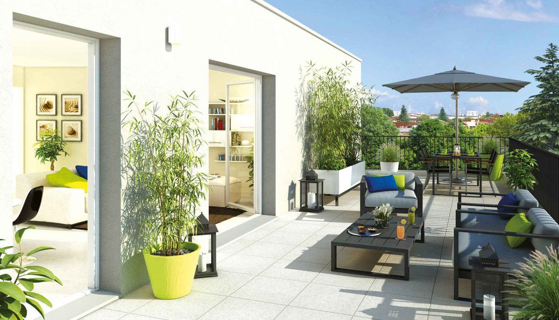 Programme immobilier ALT11 appartement à Vaulx-en-Velin (69120) CENTRE VILLE