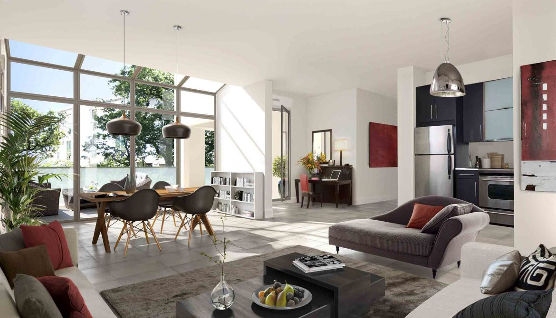 Programme immobilier Tassin-la-Demi-Lune (69160) QUARIER PAVILLONNAIRE OGI26
