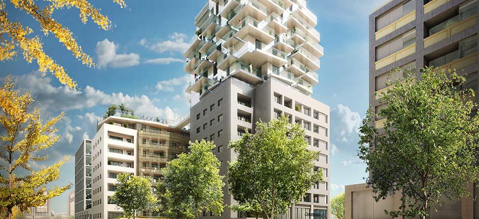 Programme immobilier Lyon 3ème (69003) LA PART DIEU VAL82