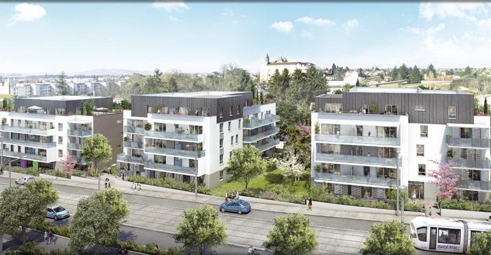 Programme immobilier Saint-Priest (69800) PROXIMITE TRAMWAY,COMMERCES NOH3