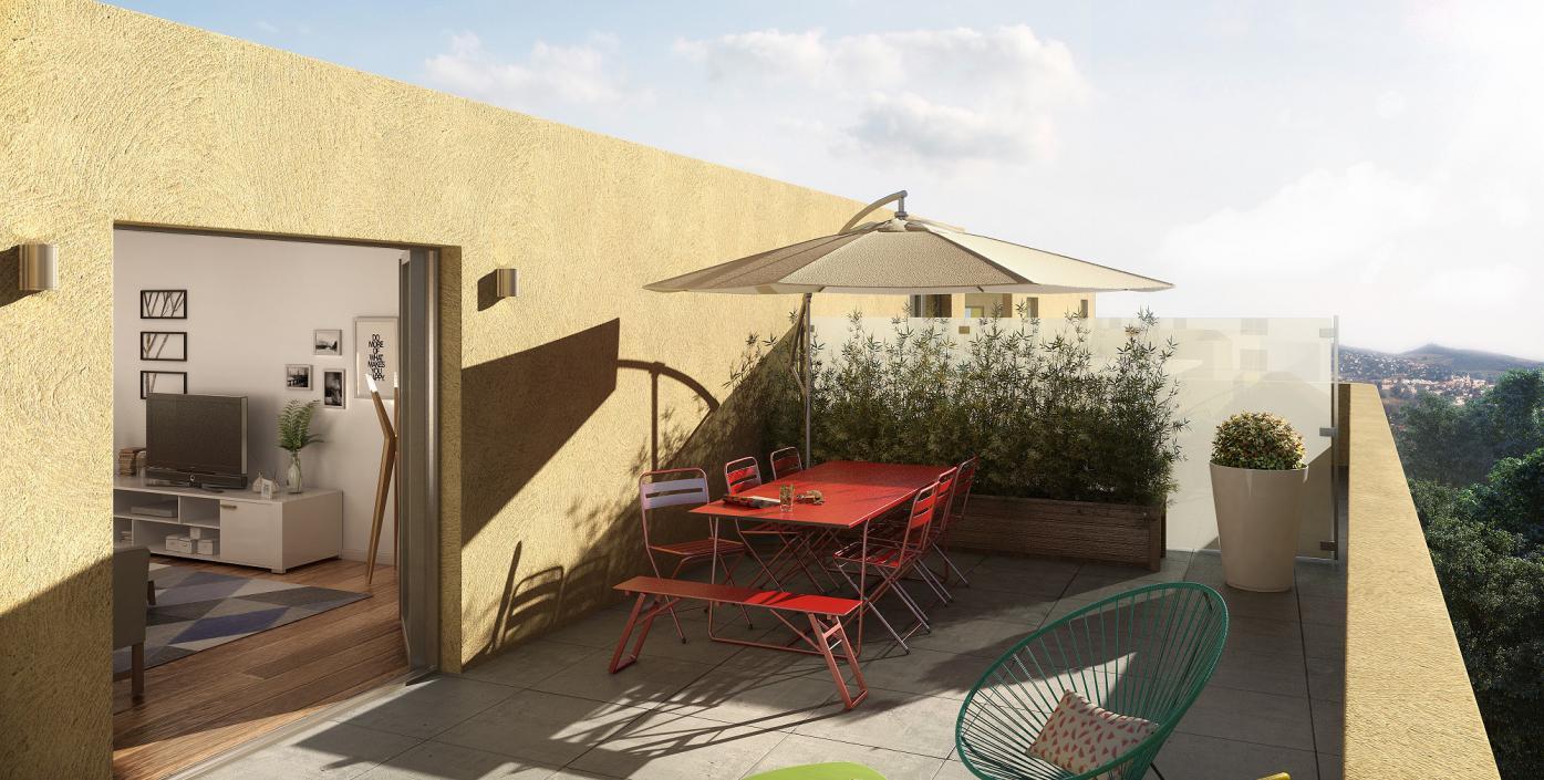 Programme immobilier NAC4 appartement à Vénissieux (69200) QUARTIER CALME ET RESIDENCIEL