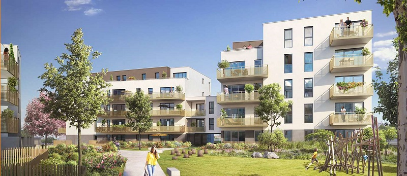 Programme immobilier Saint-Priest (69800) PROCHE CENTRE VILLE NEO4
