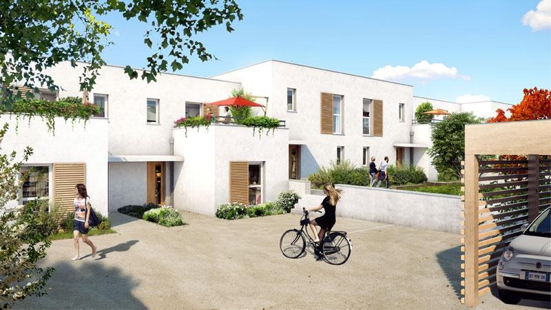 Programme immobilier Vénissieux (69200) QUARTIER RESIDENTIEL DE MONERY NP16