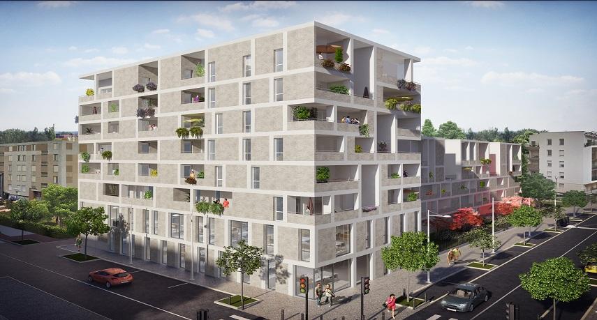 Programme immobilier Lyon 9ème (69009) PROXIMITE PARC VALLON DIA2