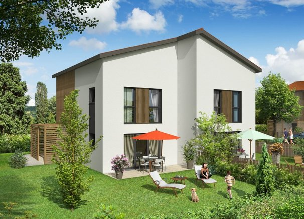 Programme immobilier BOW3 appartement à Millery (69390)
