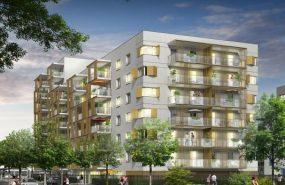 Programme immobilier BOW7 appartement à Vaulx-en-Velin (69120) LA SOIE
