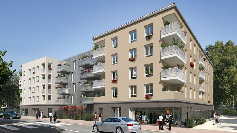 Programme immobilier Décines (69150) CENTRE VILLE AJA7