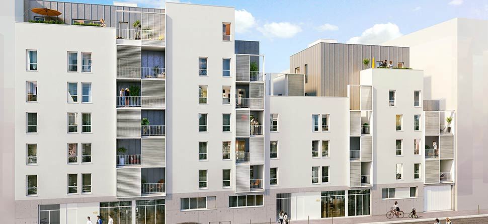 Programme immobilier Lyon 3ème (69003)  BAT1