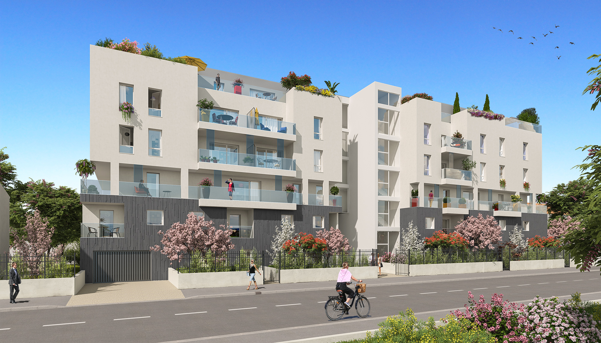 Programme immobilier Villeurbanne (69100) CHATEAU GAILLARD MIP2