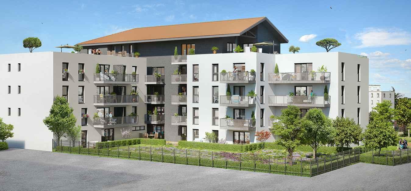 Programme immobilier Villeurbanne (69100) PROXIMITE GRATTE CIEL VAL103