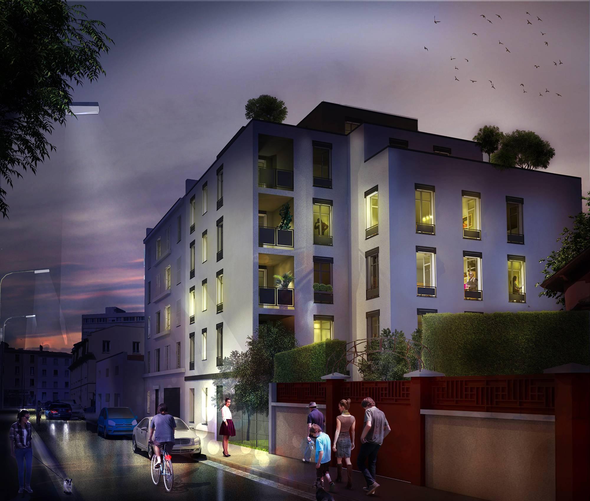 Programme immobilier Lyon 7ème (69007) COEUR 7èmé LNC6