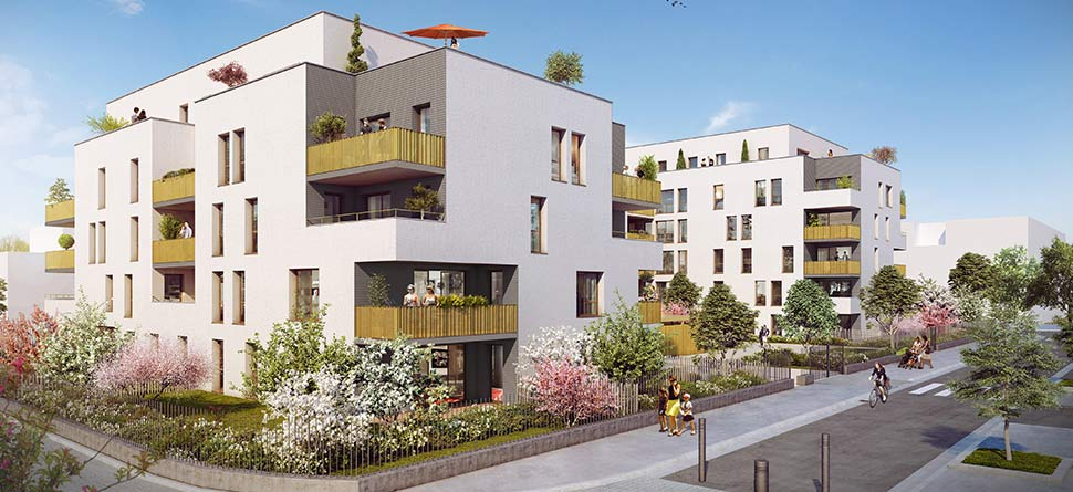 Programme immobilier VAL39 appartement à Sathonay-Camp (69580) AU COEUR VILLAGE DE SATHONAY