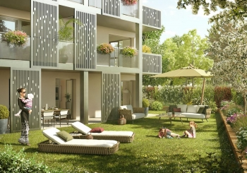Programme immobilier Craponne (69290) PROCHE CENTRE VILLE CRA1